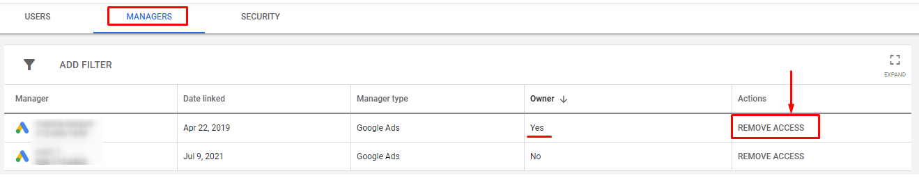 How to Transfer Ownership of Google Ads Account