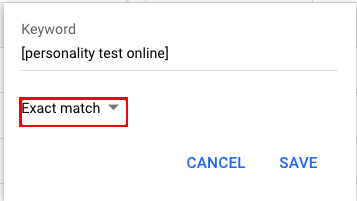 The Ultimate Guide to Keyword Match Types in Google Ads