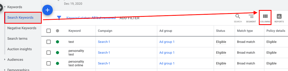 Keyword Match Types in Google Ads [Ultimate Guide]
