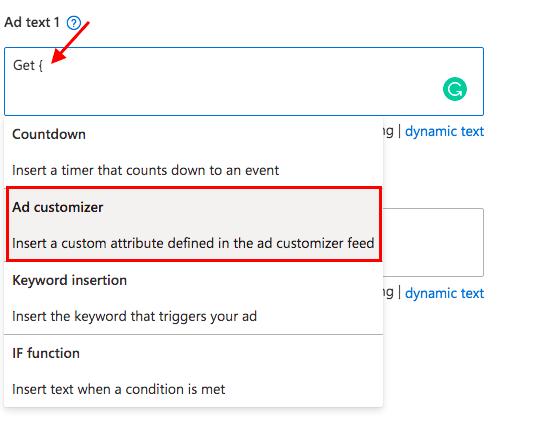 Microsoft (Bing) Ad Customizers [Ultimate Guide]