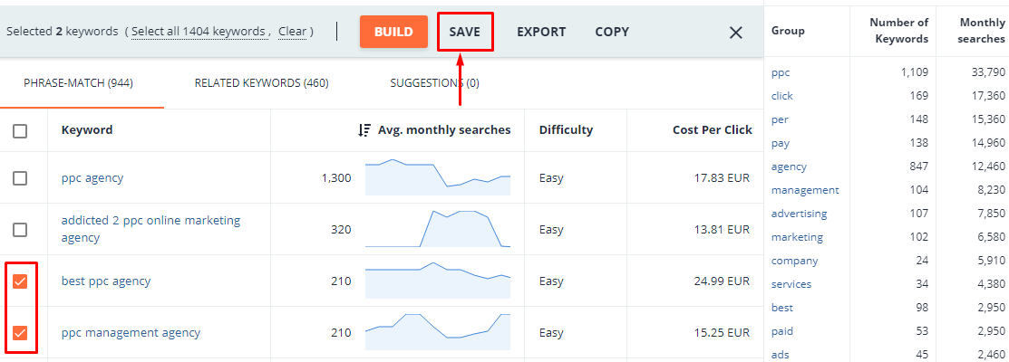 How to Organize and Manage Multiple Keyword Lists
