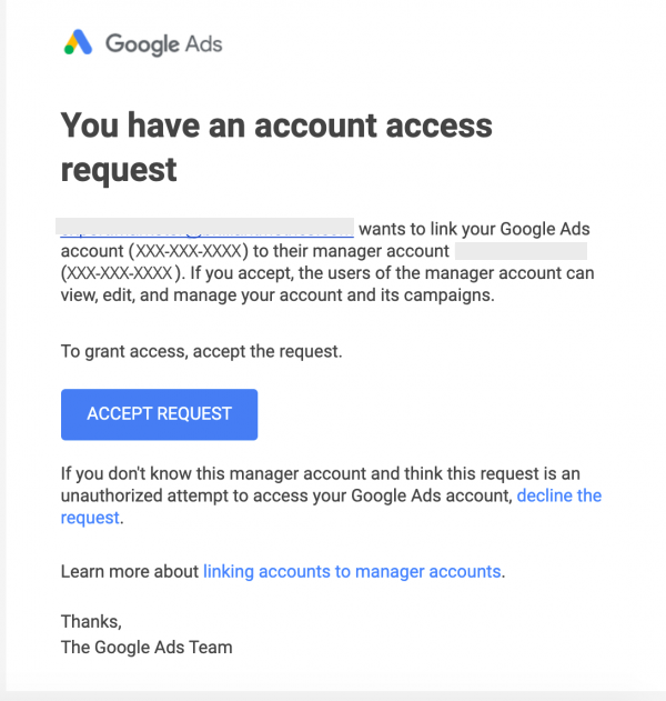How to Set Up Google Ads Manager Account (MCC)